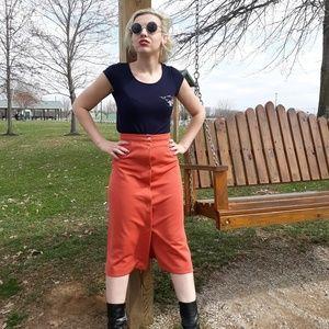 Coral Peach Skirt